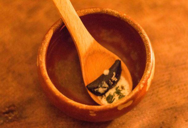 El Destilado Oaxaca quesadilla