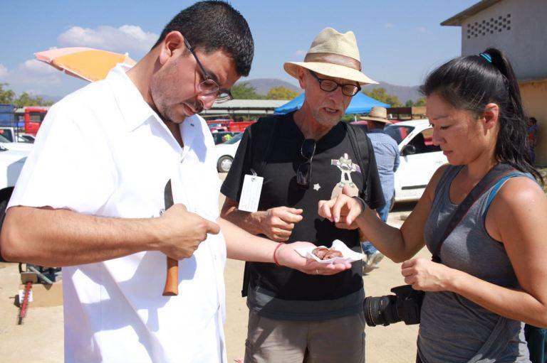 Rodolfo Castellanos Susy Bando chorizo chef Oaxaca Ocotlan