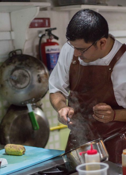 Rodolfo Castellanos Origen Oaxaca foie gras