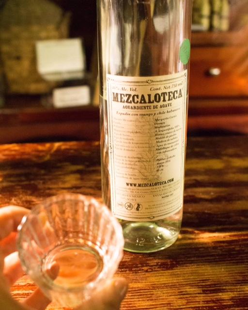 Mezcaloteca Oaxaca mezcal