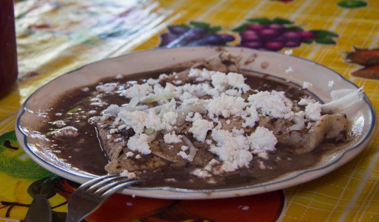 Enchiladas Oaxaca Etla
