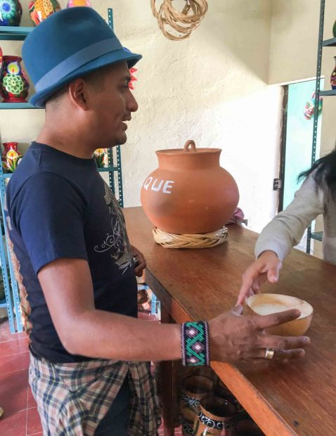 """Oaxacking Pulque"""