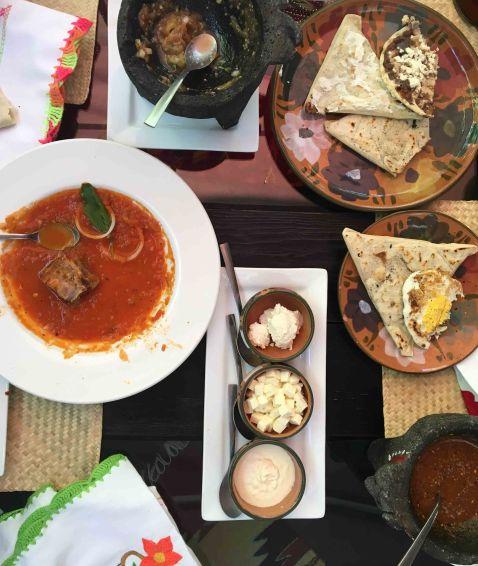 Tierra del Sol Oaxaca breakfast