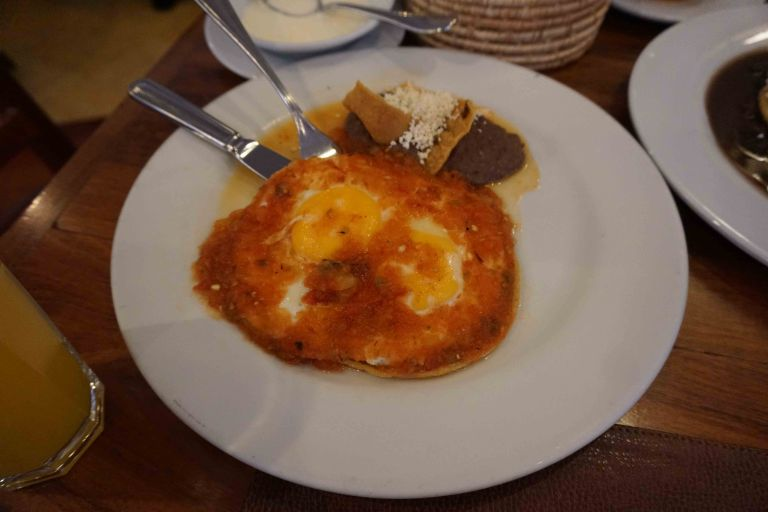 El Cardenal Mexico huevos