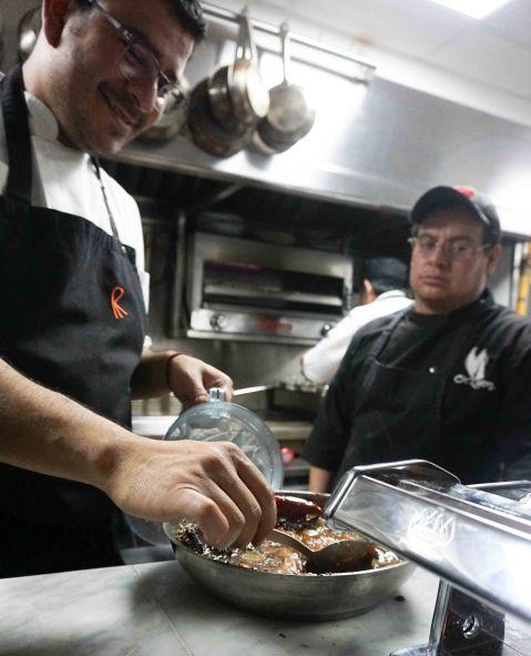 Poleo kitchen Mexico mole