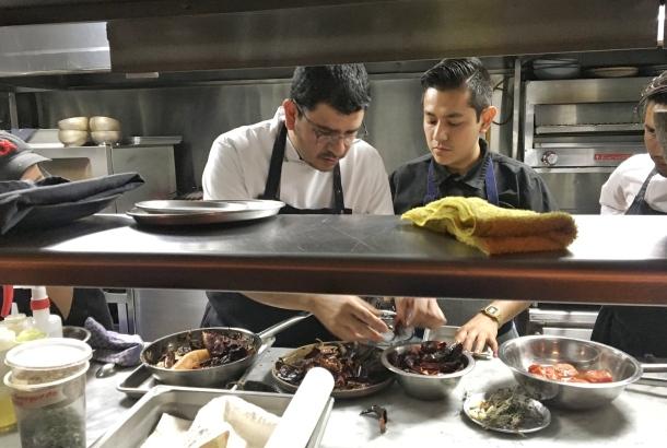 Poleo Rodolfo Castellanos Mexico kitchen