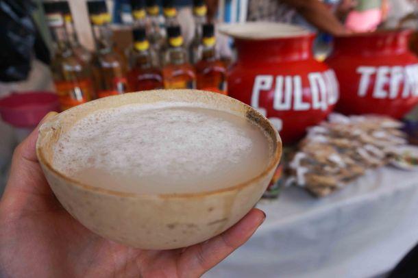Tlacaloula pulque