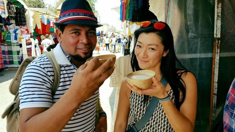 Tlacaloula Susy Bando pulque