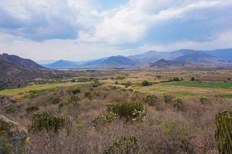 Yagul oaxaca view