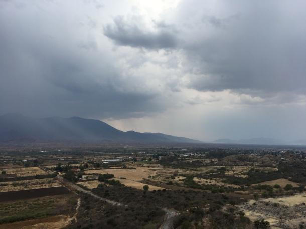 Yagul view