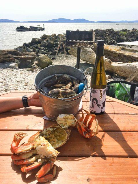 Taylors shellfish oysters crab chuckanut