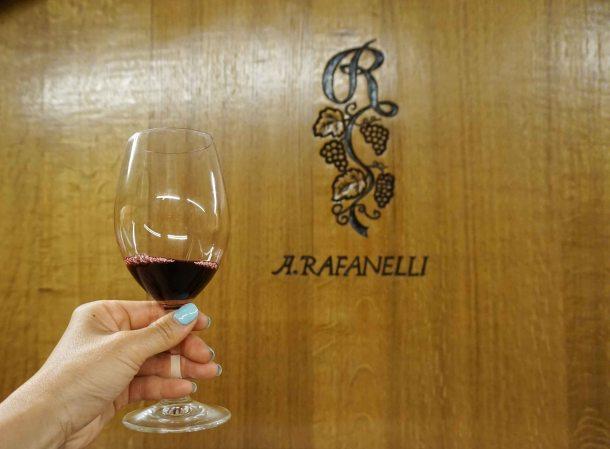 A Rafanelli wine