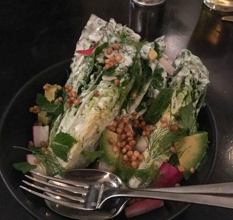 Chalkboard Healdsburg salad