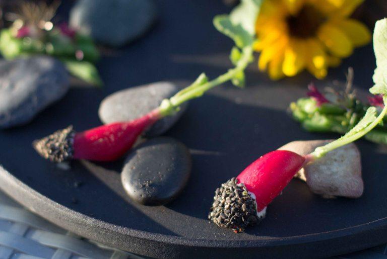 Singlethread Farm Healdsburg Sonoma radish