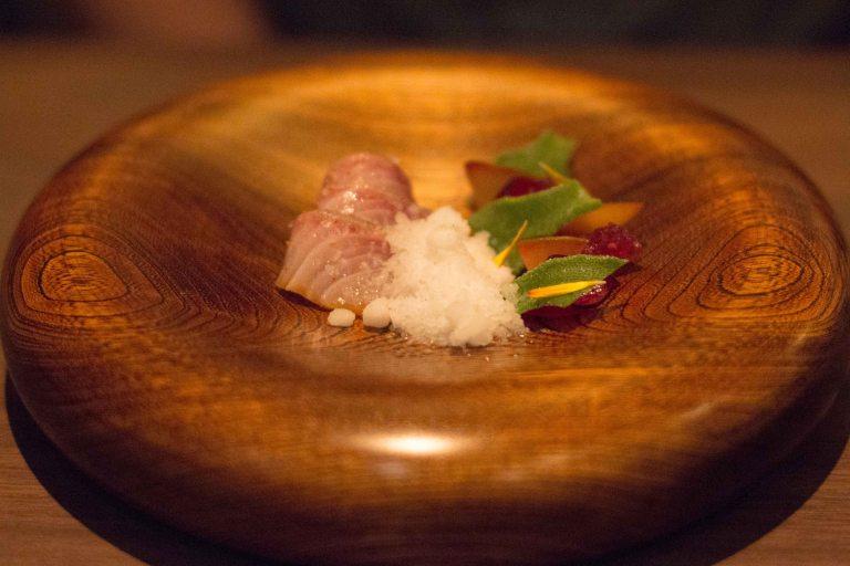 Singlethread Farm Healdsburg Sonoma sashimi