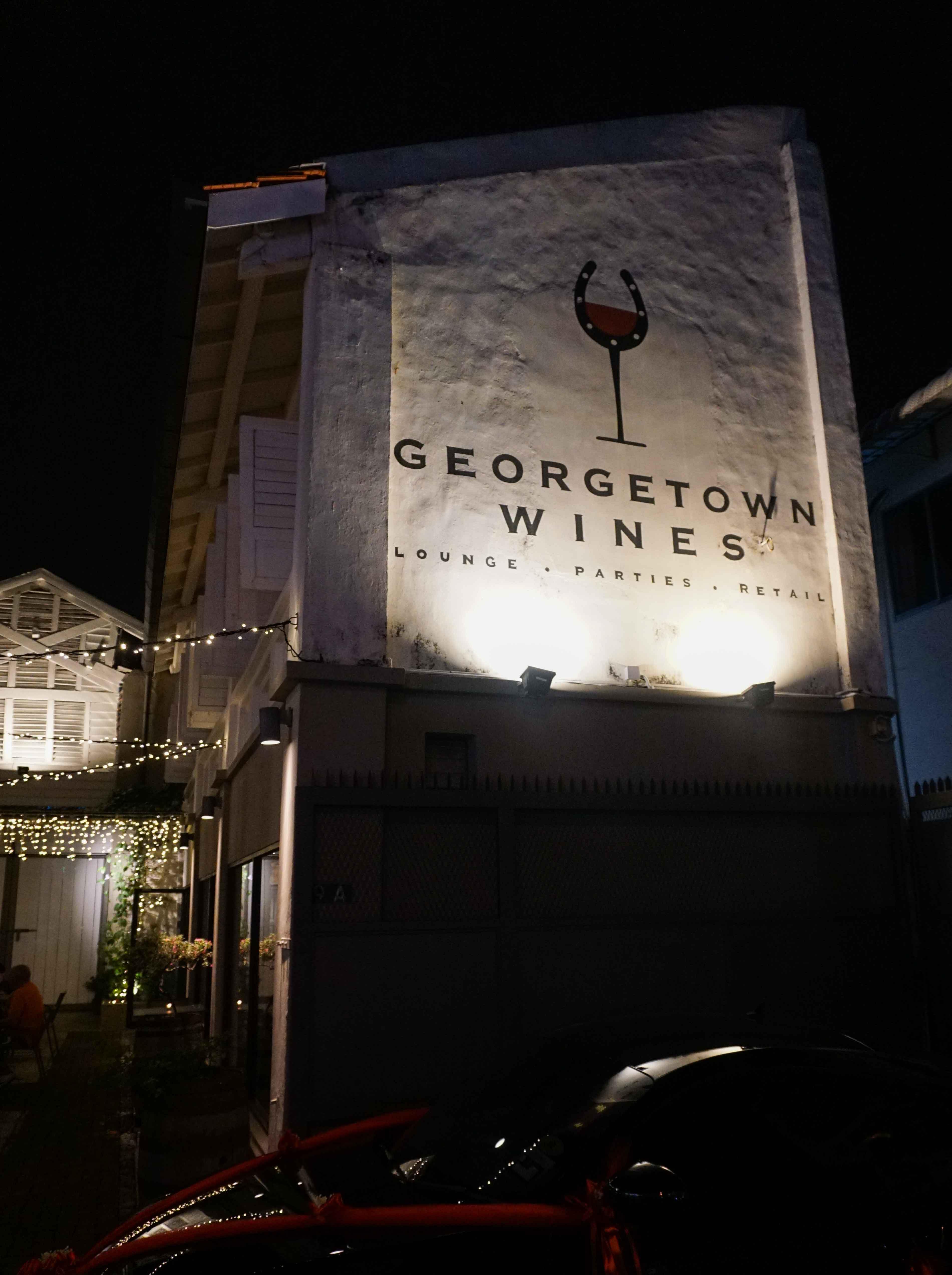 Georgetown WInes