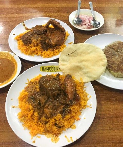 Hameediyah nasi kandar biryani