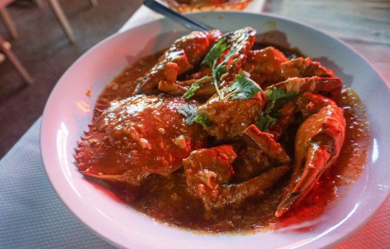 Jumbo Seafood SIN Crab chili