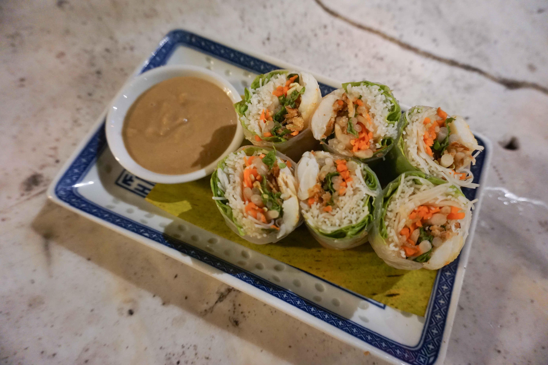 Muntri Mews salad roll