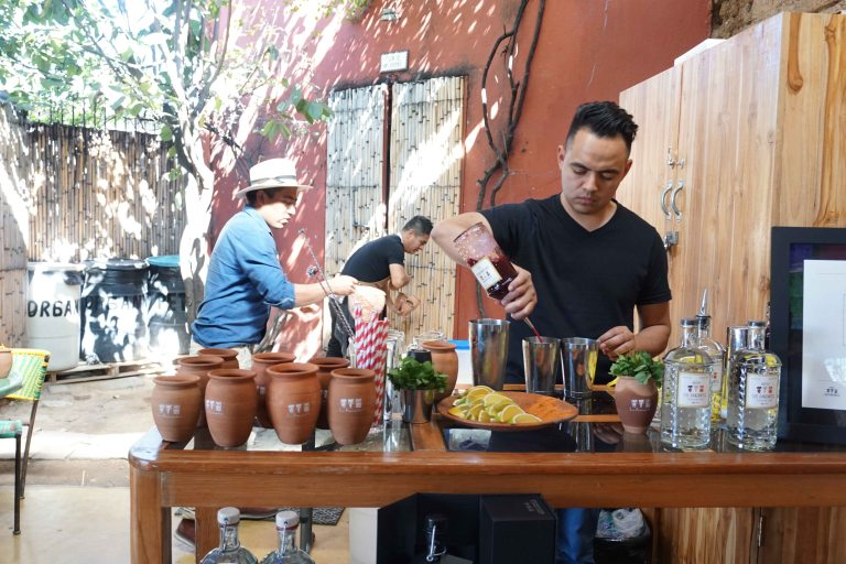 Jose Luis Leon cocktail Los Danzantes