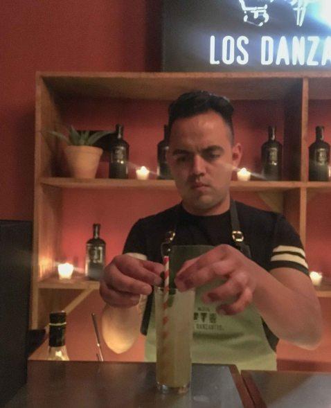 Origen Anniversary Jose Luis Leon bartender