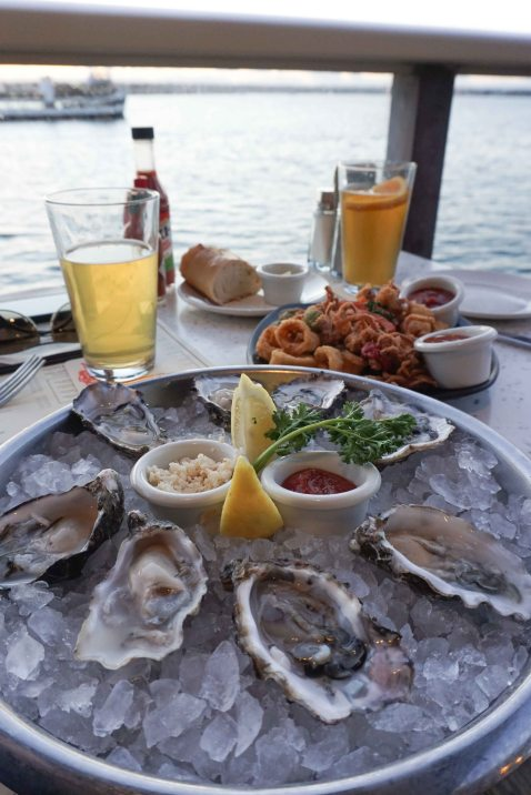 San Diego Fish Market oysters