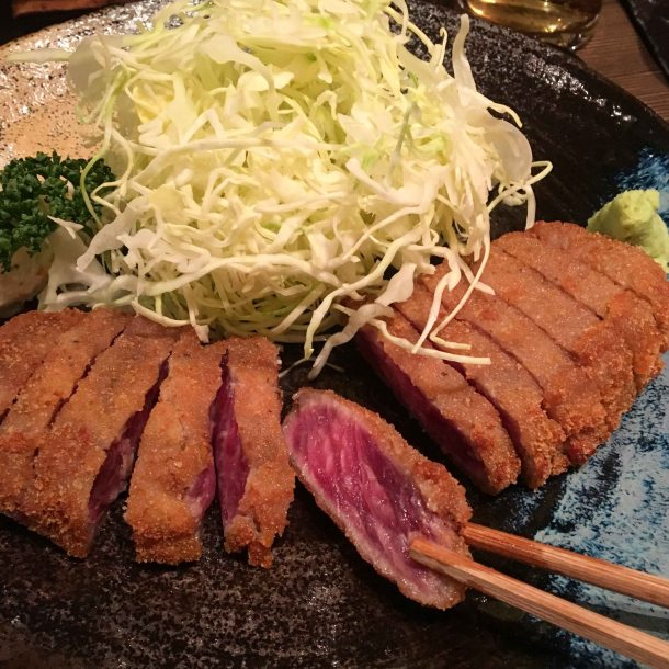 Gyukatsu motomura tokyo beef