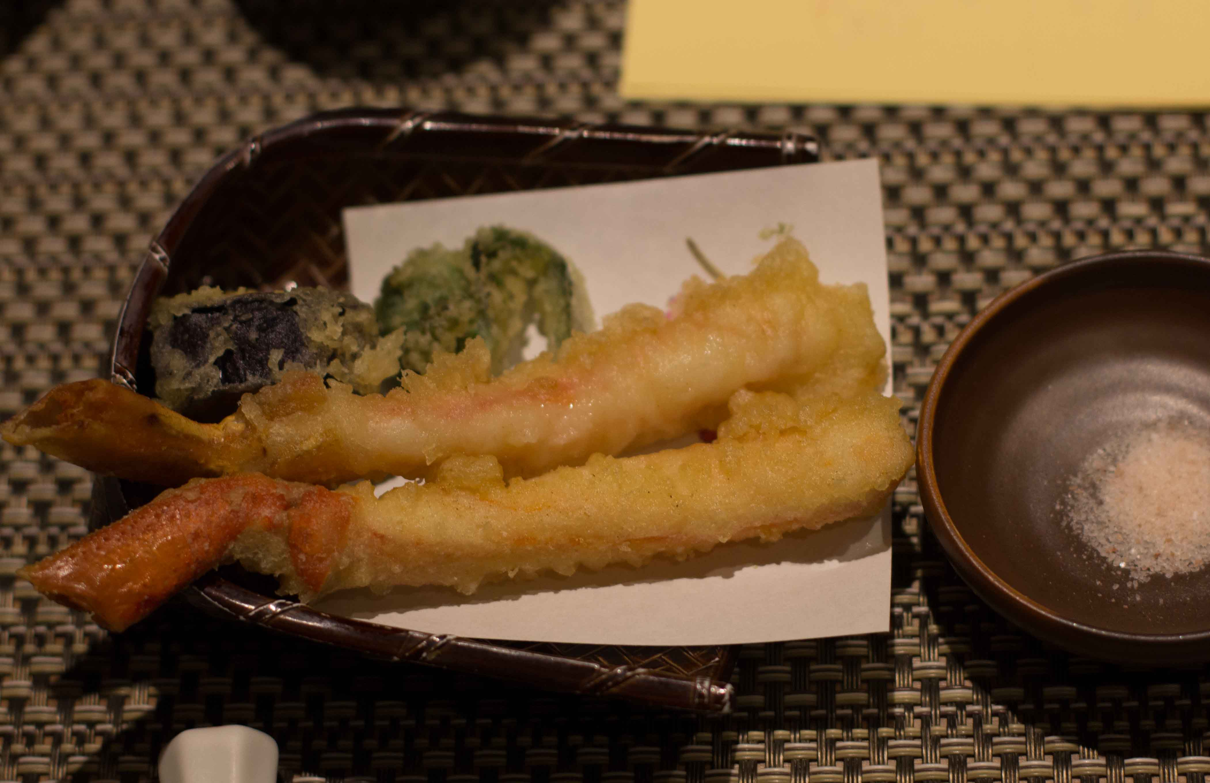 kinosaki matsubu kani tempura