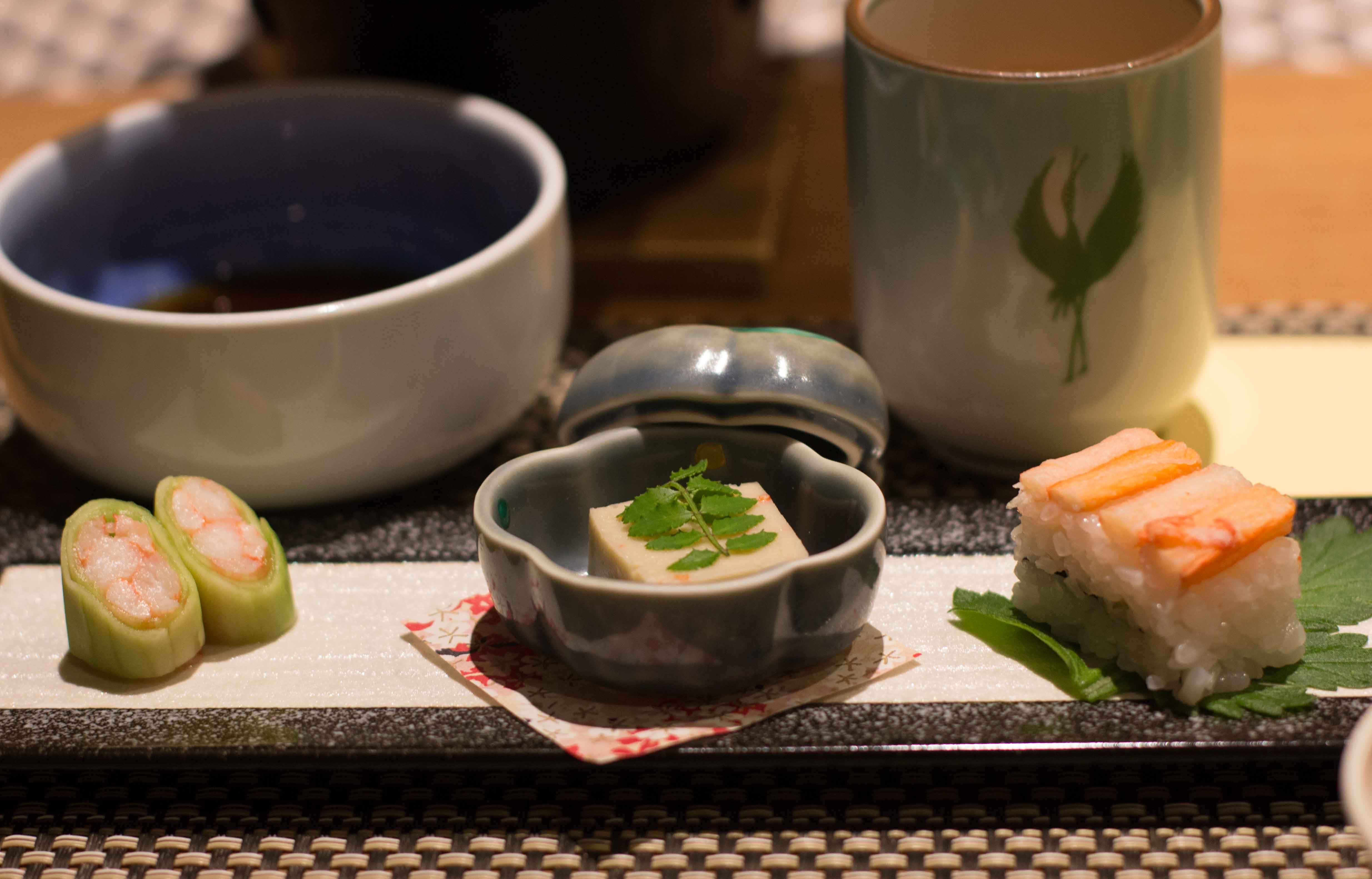 kinosaki suishoen kani appetizer