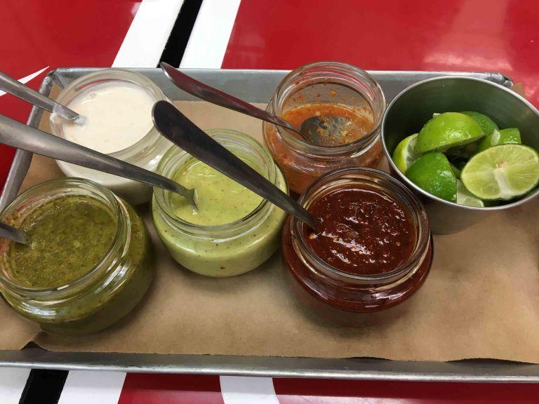 Taqueria Orinoco salsa