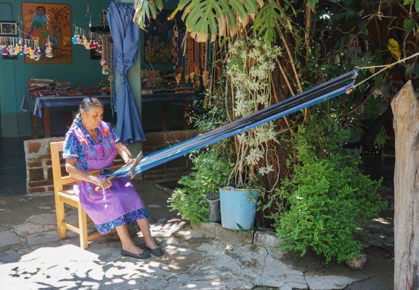 Navarro Oaxaca backstrap weaving