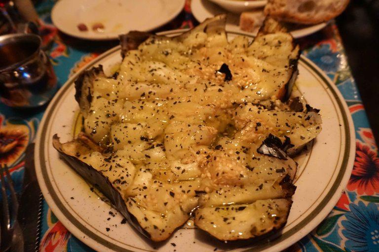 Lil Frankies NYC eggplant