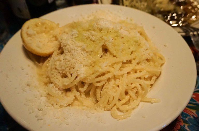 Lil Frankies NYC spaghetti limone
