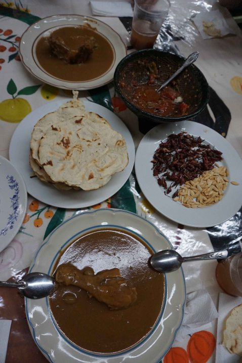 Mole estofado Ocotlan Oaxaca Frida