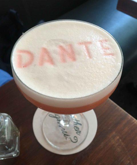 Dante Genuine negroni sour