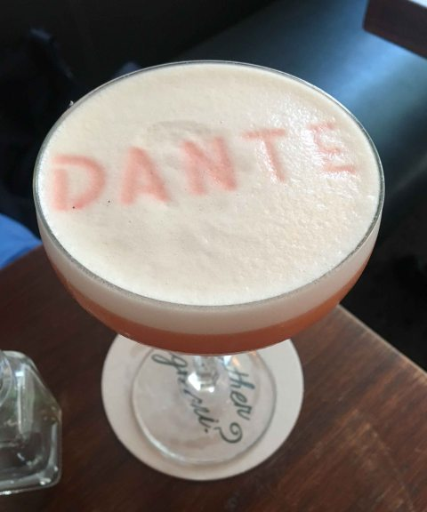 Dante Genuine negroni sour