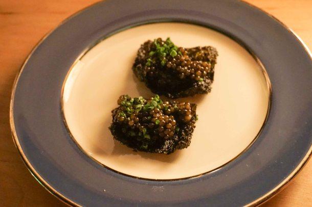Tokyo Record Bar caviar