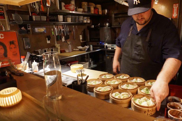 Tokyo Record Bar NYC gyoza