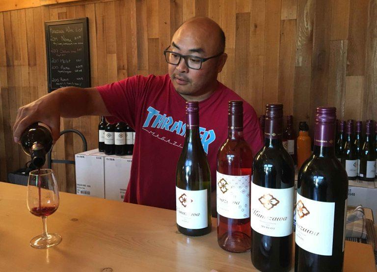 Kanazawa wines Richard
