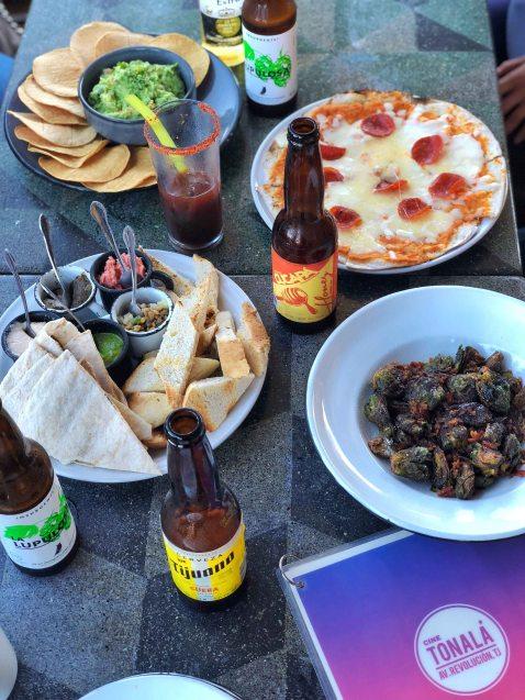 Tijuana Cine Tonala beer