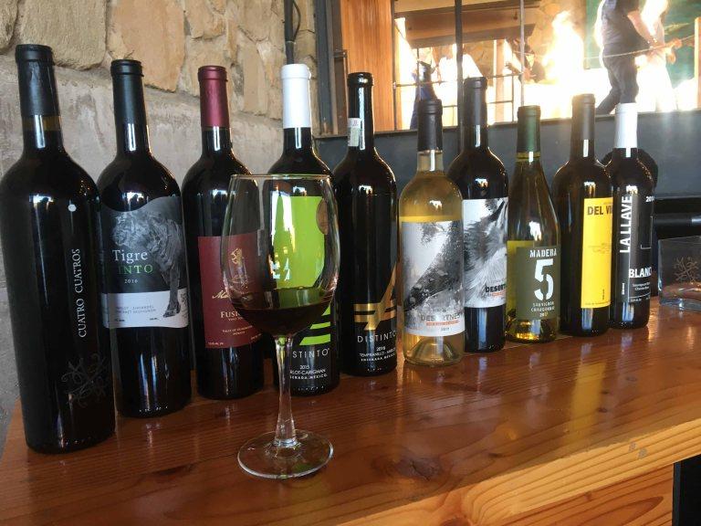 Cuatro Cuatros wine tasting