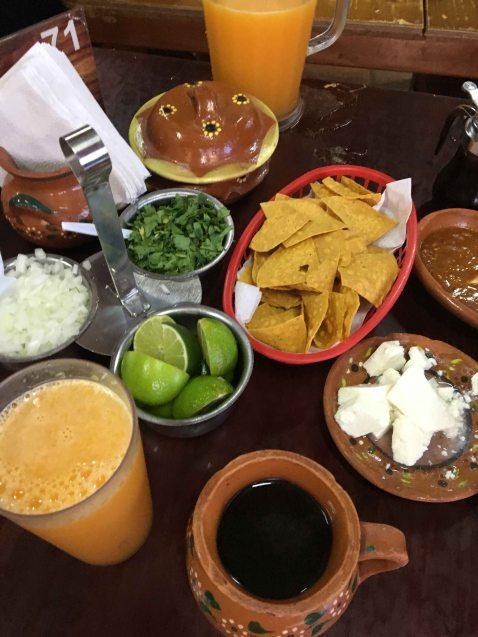 Dona Esthela Guadalupe breakfast