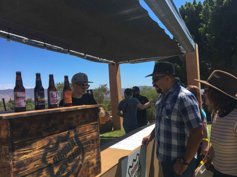 Guadalupe Valley Fest beer