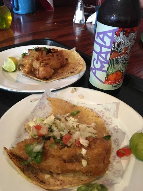 La Guerrerense Ensenada tacos