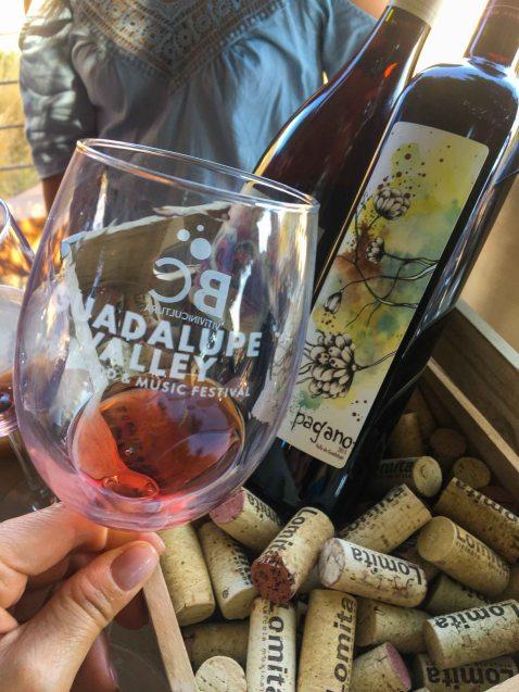 La lomita Pagano grenache guadalupe valley fest