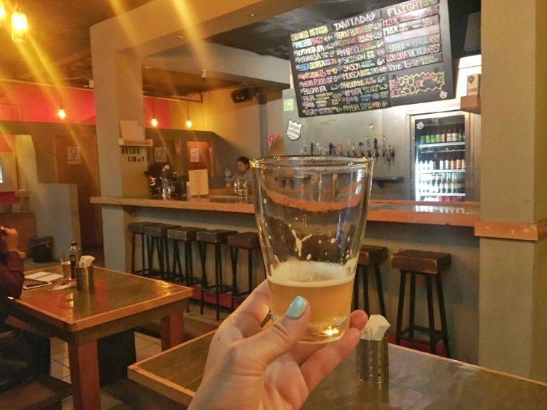 Tijuana border psycho beer