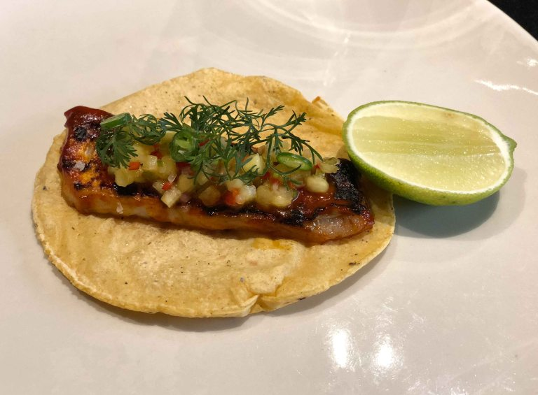 Pujol taco omakase al pastor