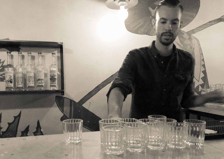 El Destilado Cinco Sentidos mezcal