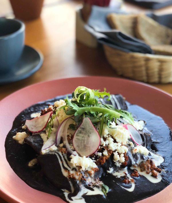 Fiero Oaxaca enchilada desayunos