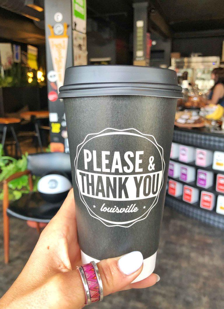 Louisville Please thank you coffee